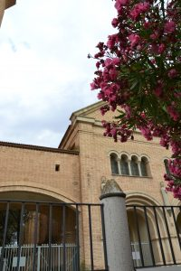 Iglesia nueva de Belchite