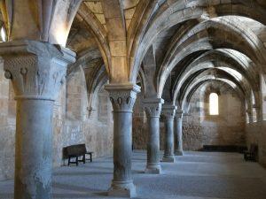 Monasterio de Santa María de Huerta. Sala Capitular.
